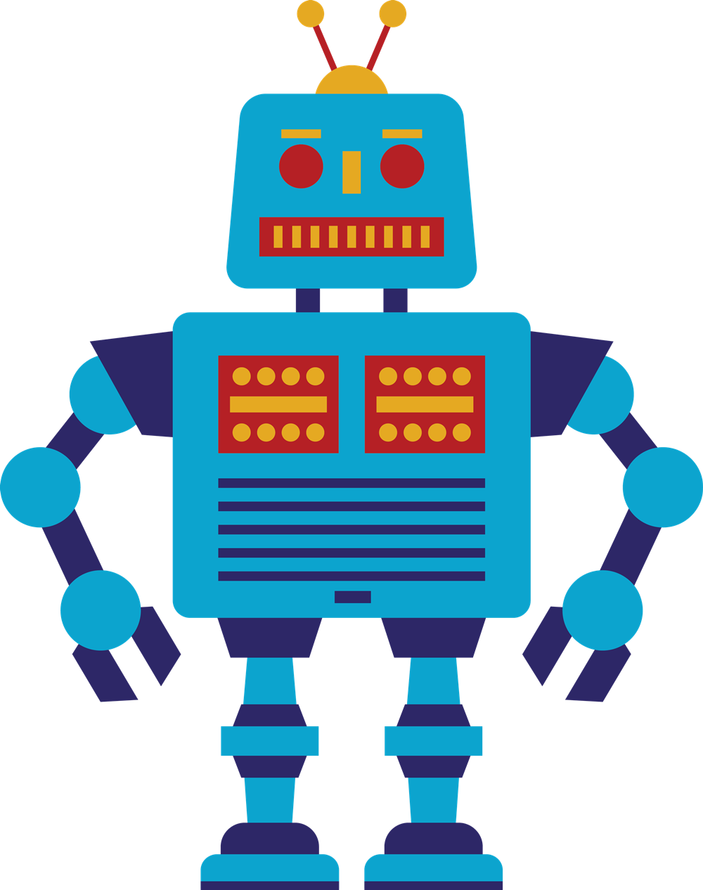 1000x1266 Robot Clip Art Free Clipart Images
