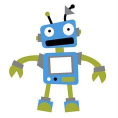 236x236 Robot Clipart Building