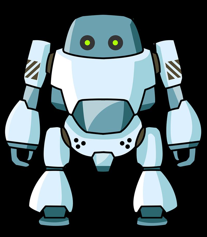 800x914 Free Cartoon Robot Clip Art