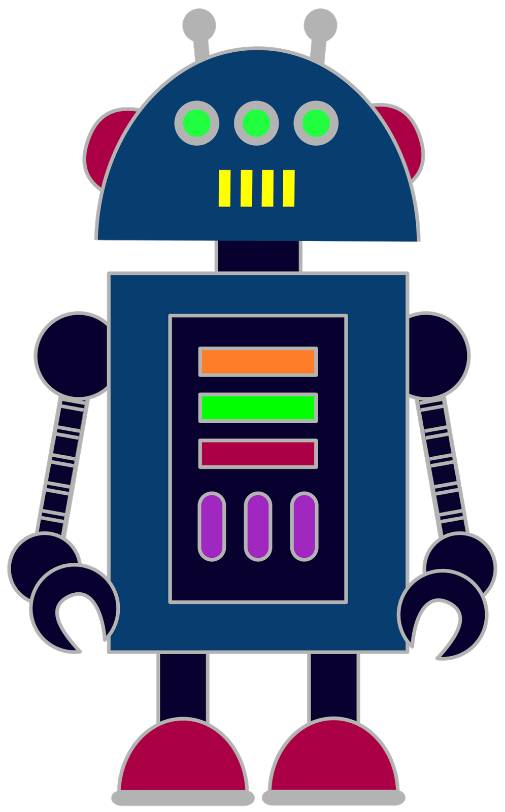 995x1600 Free Robot Clip Art For Classrooms, Teachers And Parents. Manta