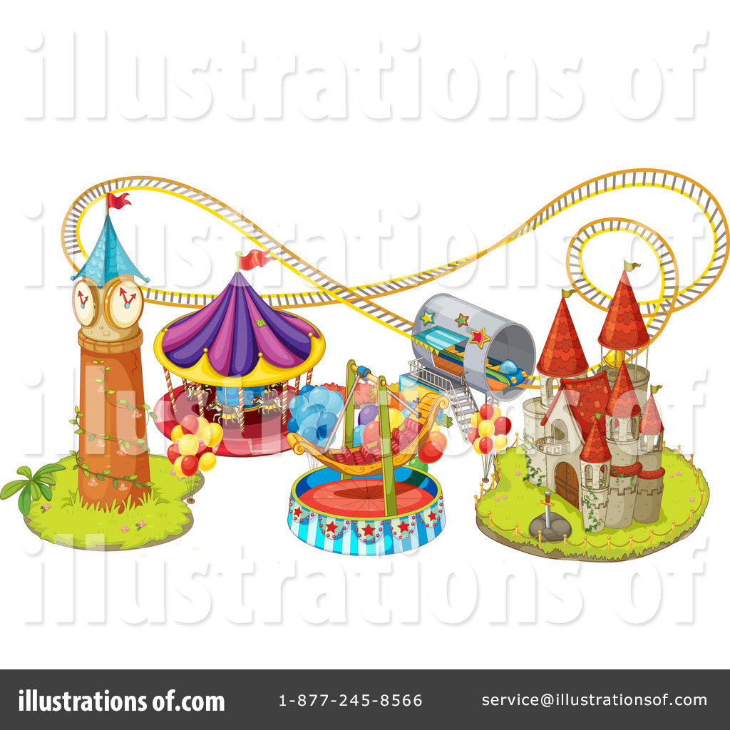 Free Roller Coaster Clipart