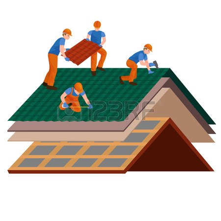 Free Roofing Clipart