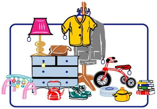 501x349 Products Clipart Rummage Sale