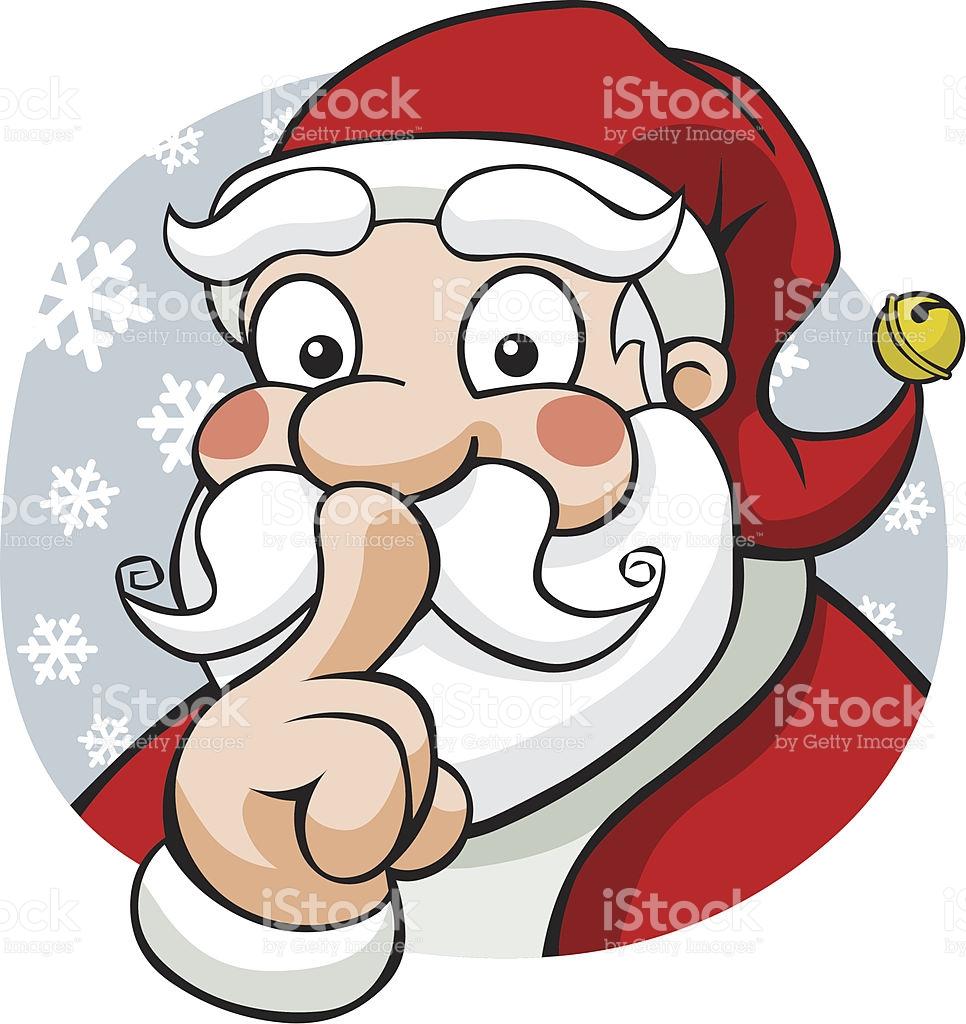 966x1024 Secret Santa Clip Art