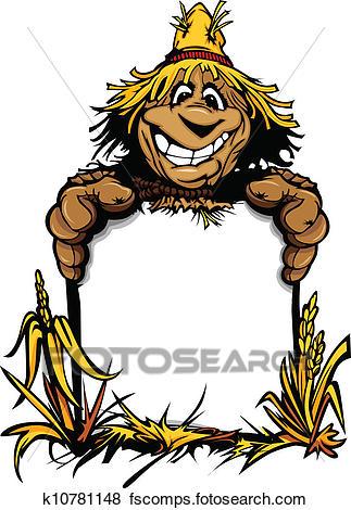 323x470 Scarecrow Clip Art Eps Images. 1,695 Scarecrow Clipart Vector