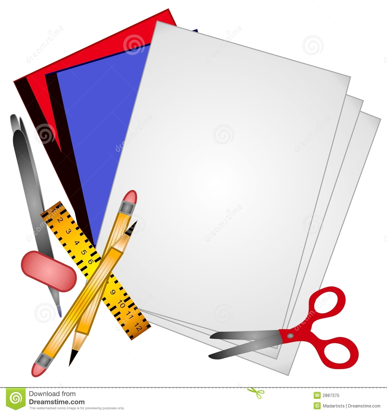 1300x1390 Marker Clipart Free School Supply