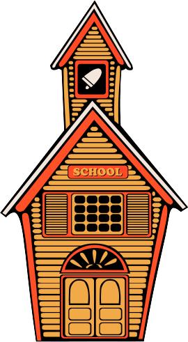 270x491 Free School House Clipart, 1 Page Of Public Domain Clip Art