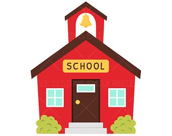340x270 School House Clipart 2