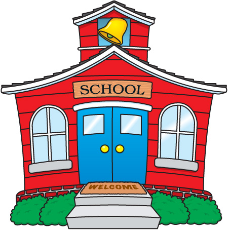 450x454 Schoolhouse School House Images Free Clipart 2