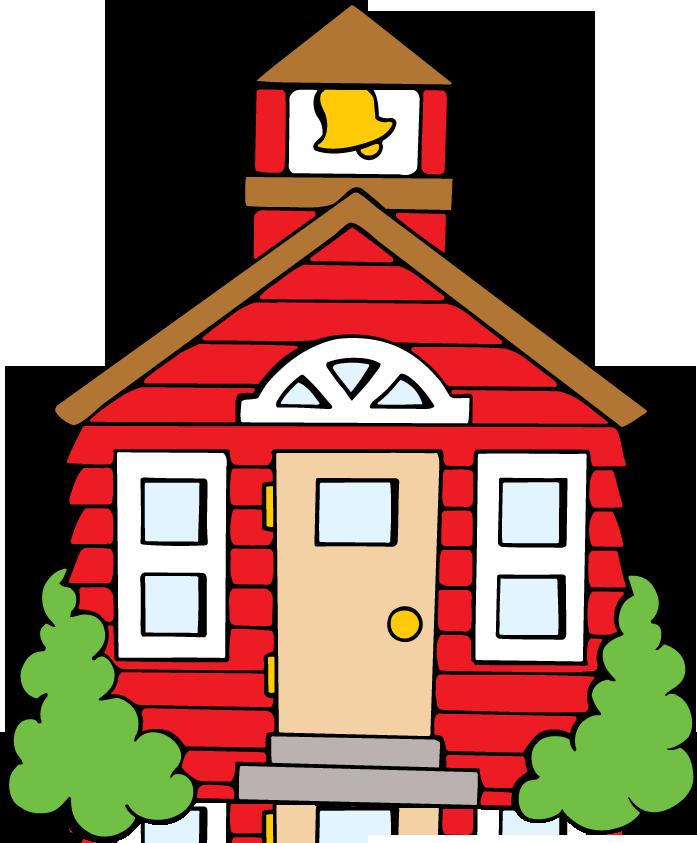 697x843 Building Clipart Pre School