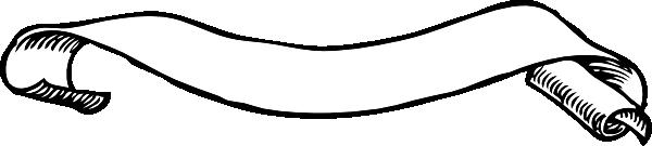 600x135 Scroll Clip Art Free Vector 4vector