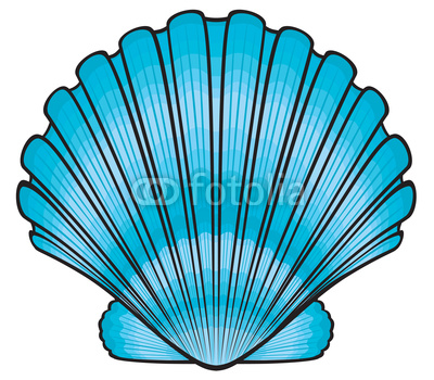 400x350 Free to share seashell clipart free ClipartMonk