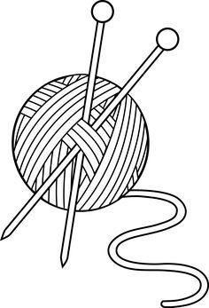 236x347 Free clipart knitting needles and sewing items