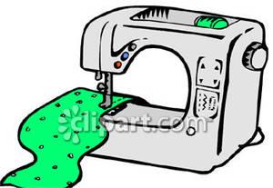 300x207 Machine With Green Fabric