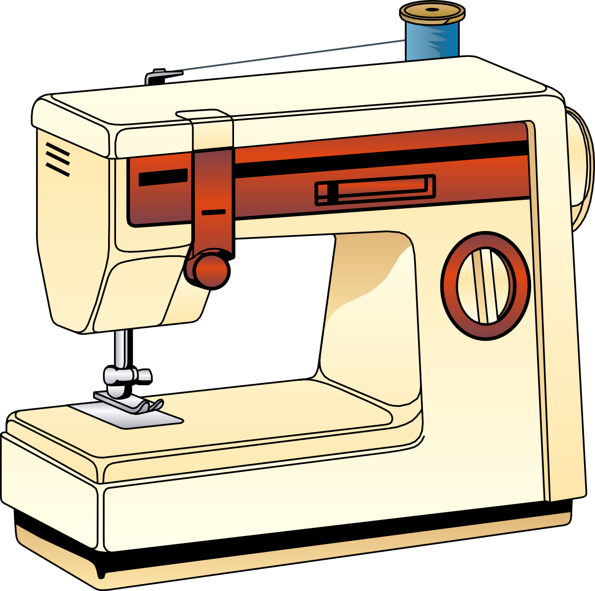 1200x1192 Sewing Machine Clipart Many Interesting Cliparts