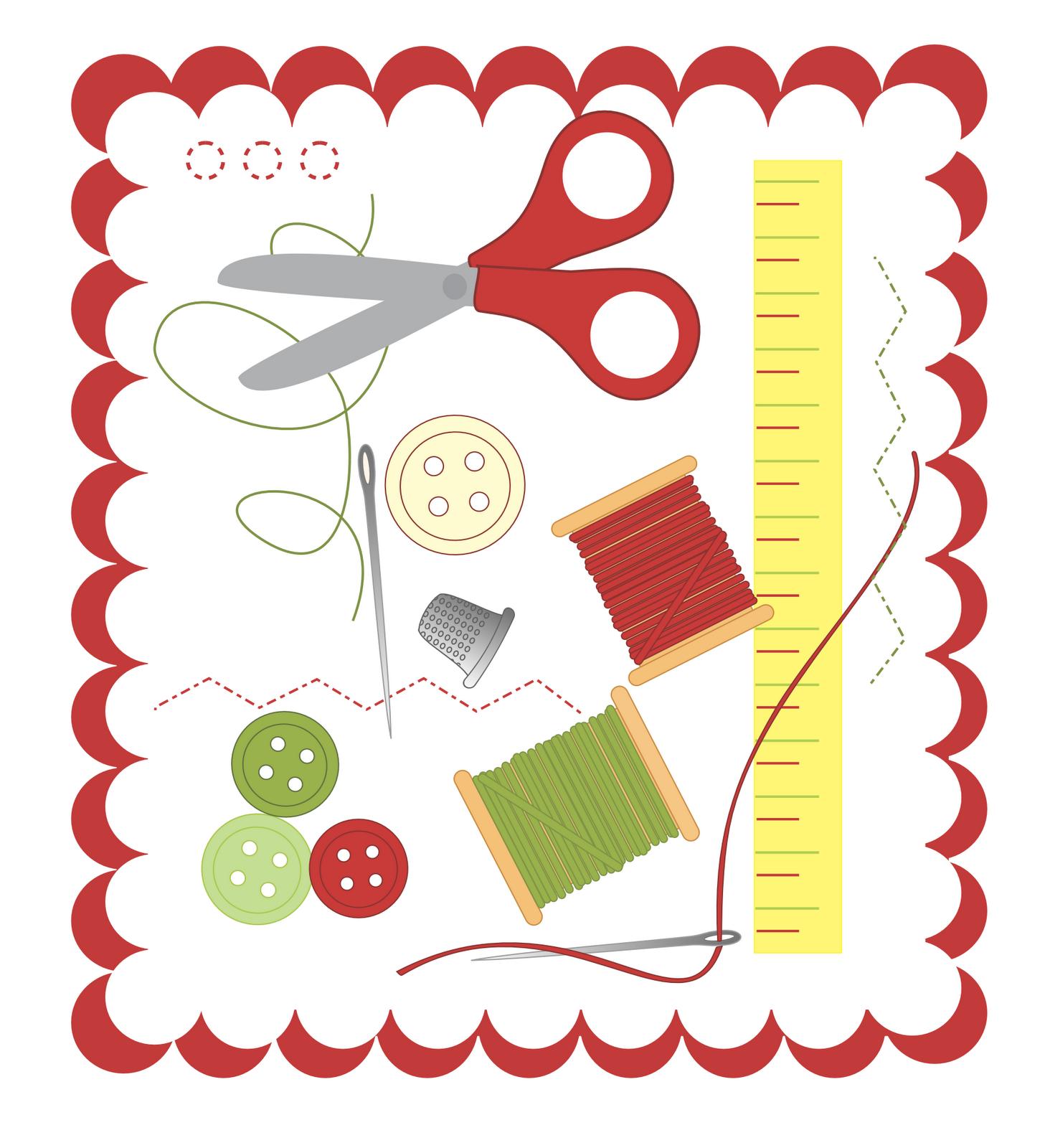1464x1600 sewing clip art 20 Clipart Panda