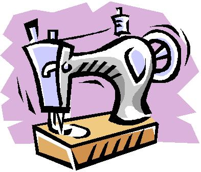 Free Sewing Machine Clipart