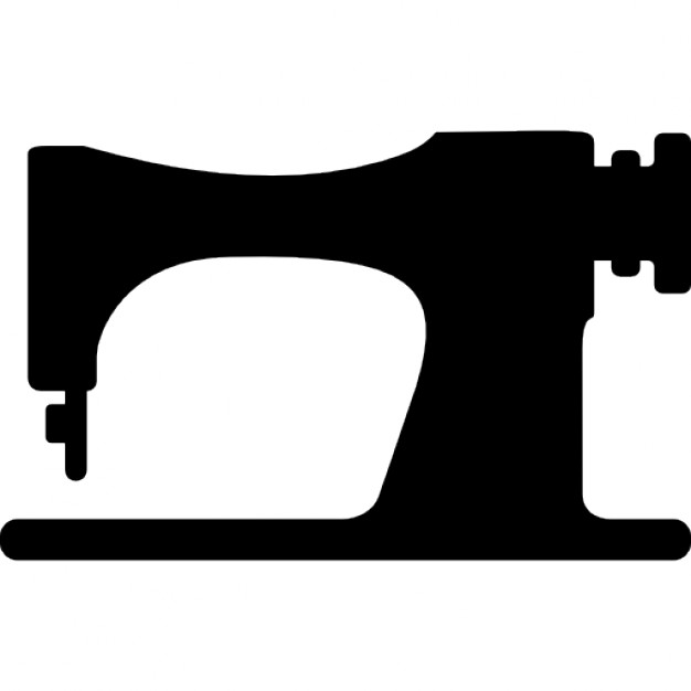 626x626 Sewing Machine Clipart Silhouette