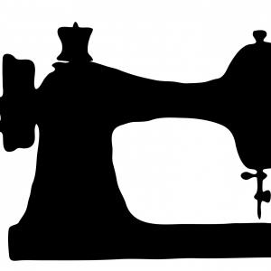 300x300 Sewing Machine Clipart Vector