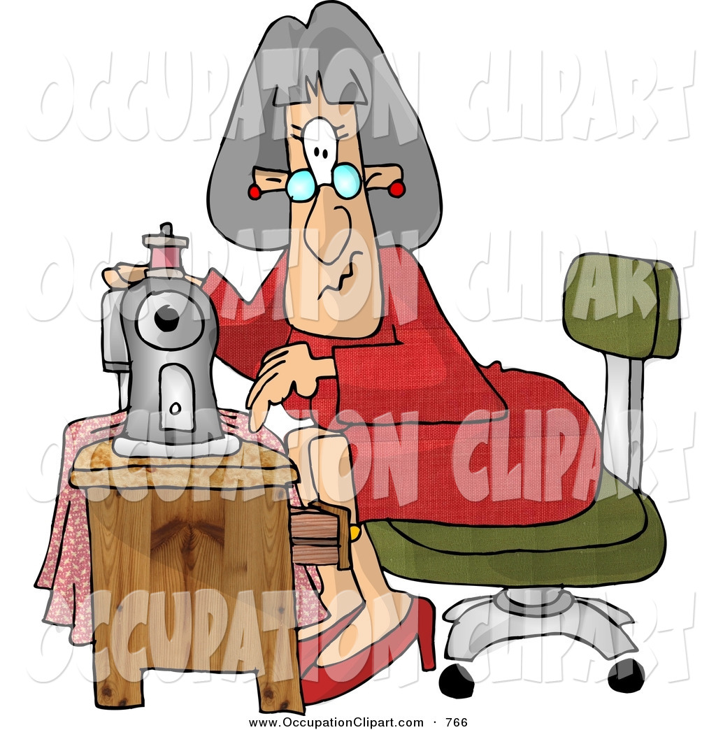 1024x1044 Clip Art Of Elderly Seamstress Woman Sewing A Dress Using