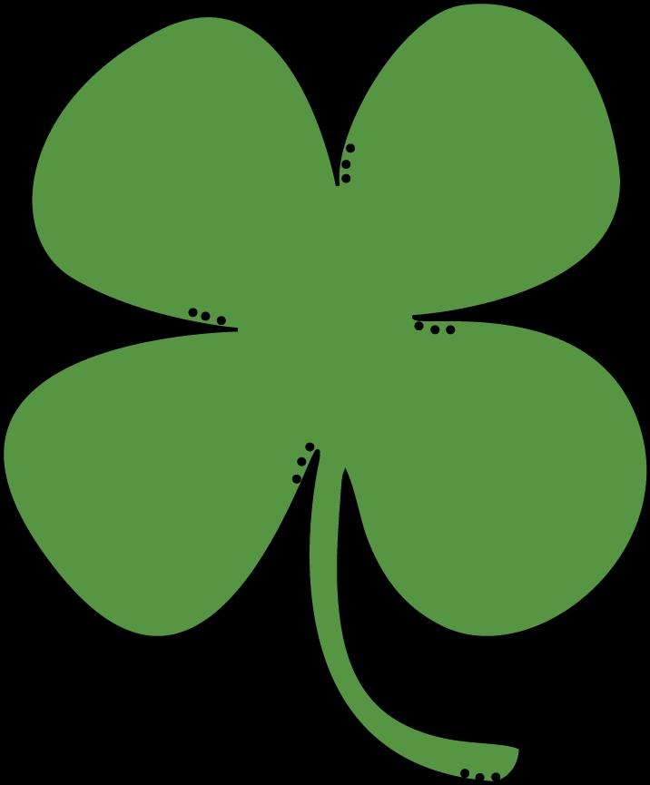 716x865 Public Domain Clip Art Shamrocks St Patricks Day Shamrock 3