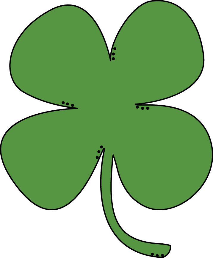 716x865 Shamrock Ireland Clipart