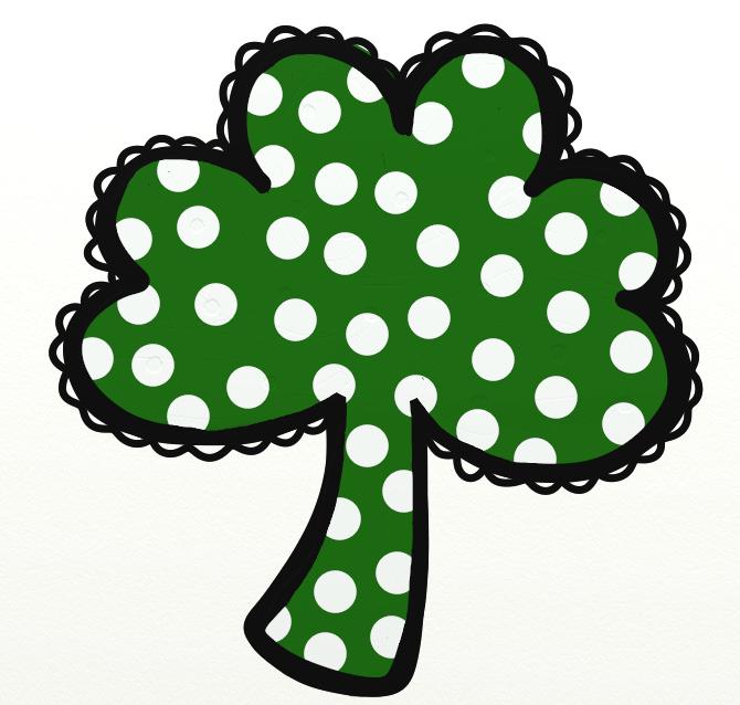 670x638 Free Shamrock Clipart Public Domain Holiday Stpatrick Clip Art 3 2
