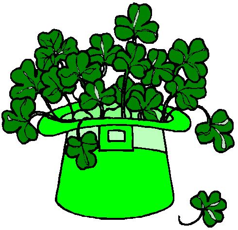 490x473 Irish Free Shamrock Clipart Public Domain Holiday Stpatrick Clip