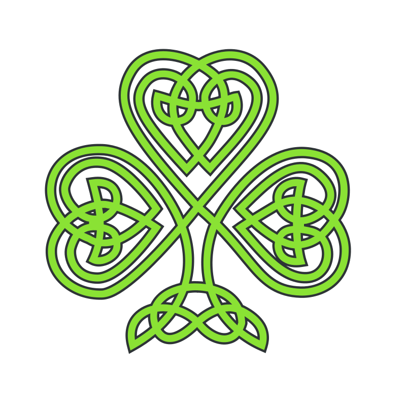800x800 Shamrock Free Stock Photo Illustration Of A Shamrock