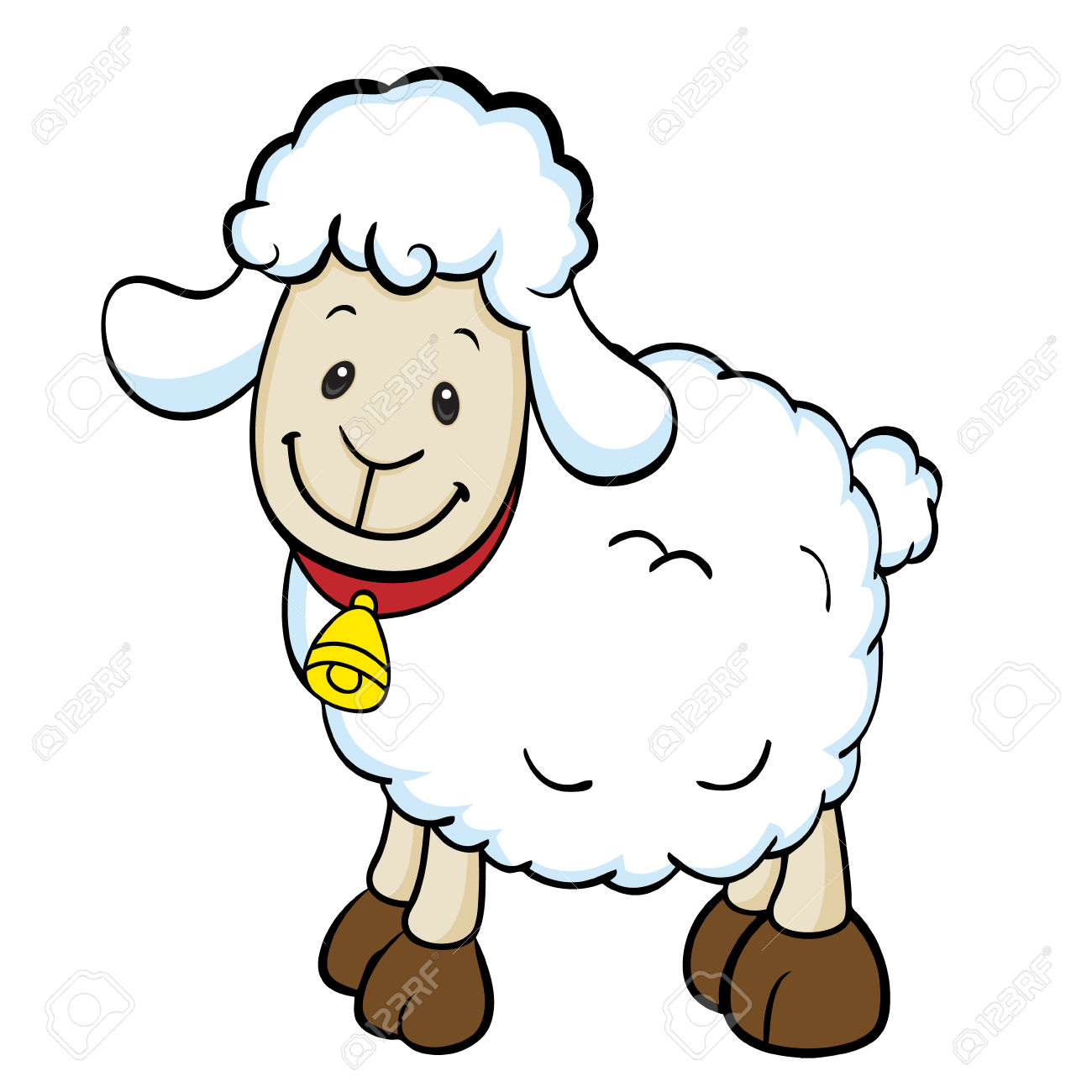 1300x1300 Lamb Clipart Cartoon