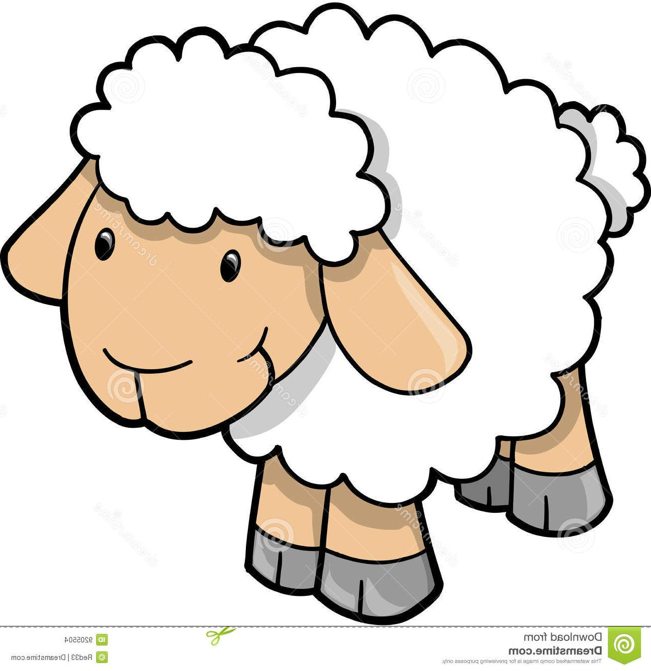 1300x1341 Best Free Sheep Clip Art Vector File Free Free Vector Art