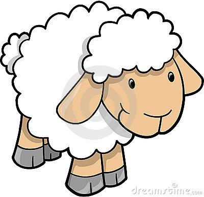 400x385 Sheep Clip Art Vector Clipart