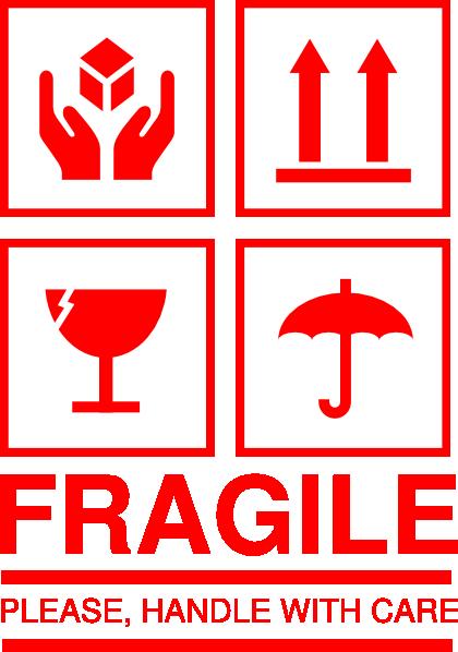 420x598 Fragile Clip Art