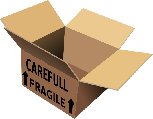 537x418 Cardboard Box Free Shipping Clipart 1 Page Of Public Domain Clip