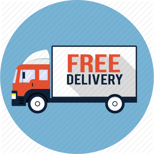 512x512 Courier, Delivery, Free, Lorry, Shipping, Truck, Van Icon Icon