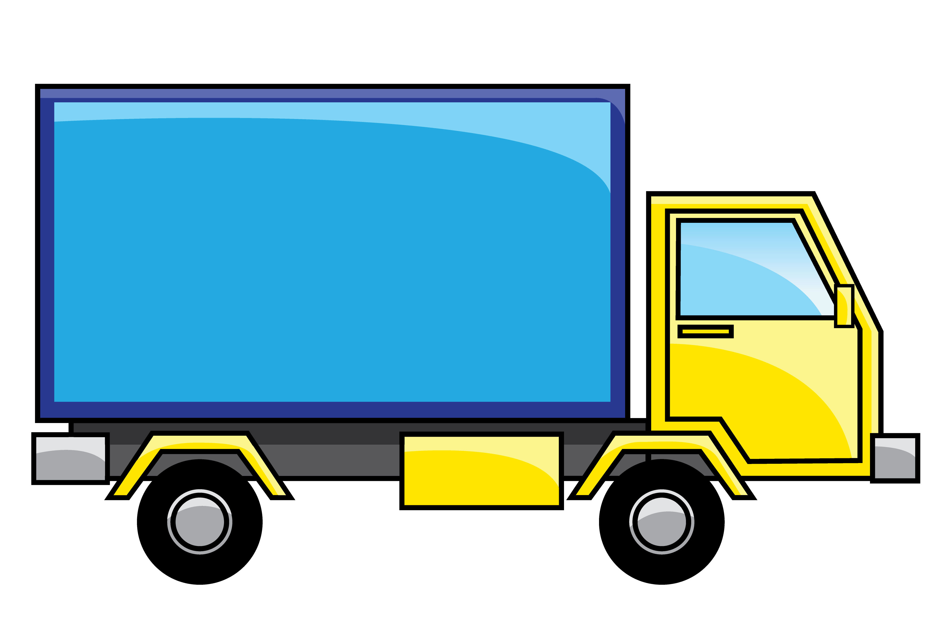 3801x2500 Delivery Truck Clipart Many Interesting Cliparts