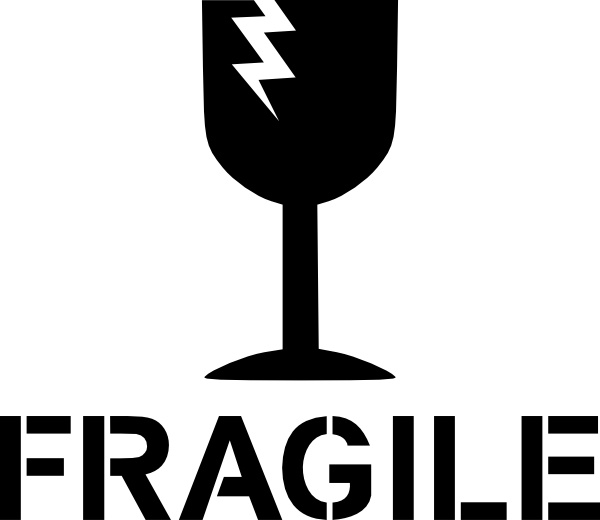 600x520 Fragile Sign Clip Art Free Vector In Open Office Drawing Svg