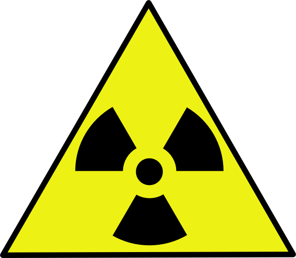 600x523 Nuclear Zone Warning Sign Clip Art Free Vector 4vector