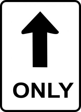 309x425 One Way Sign Clip Art Free Vectors Ui Download