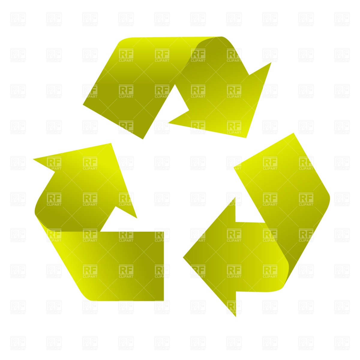 1200x1200 Recycle Sign Royalty Free Vector Clip Art Image