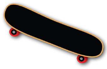 340x221 Free Skateboard Clipart Pictures
