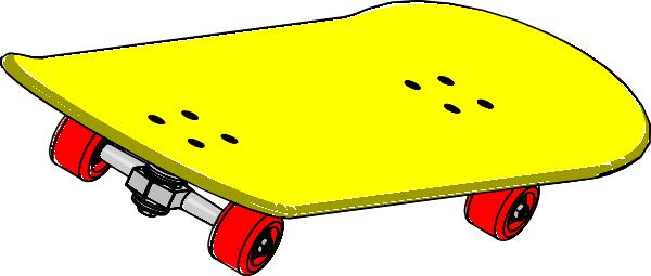 600x255 Skateboard Clipart