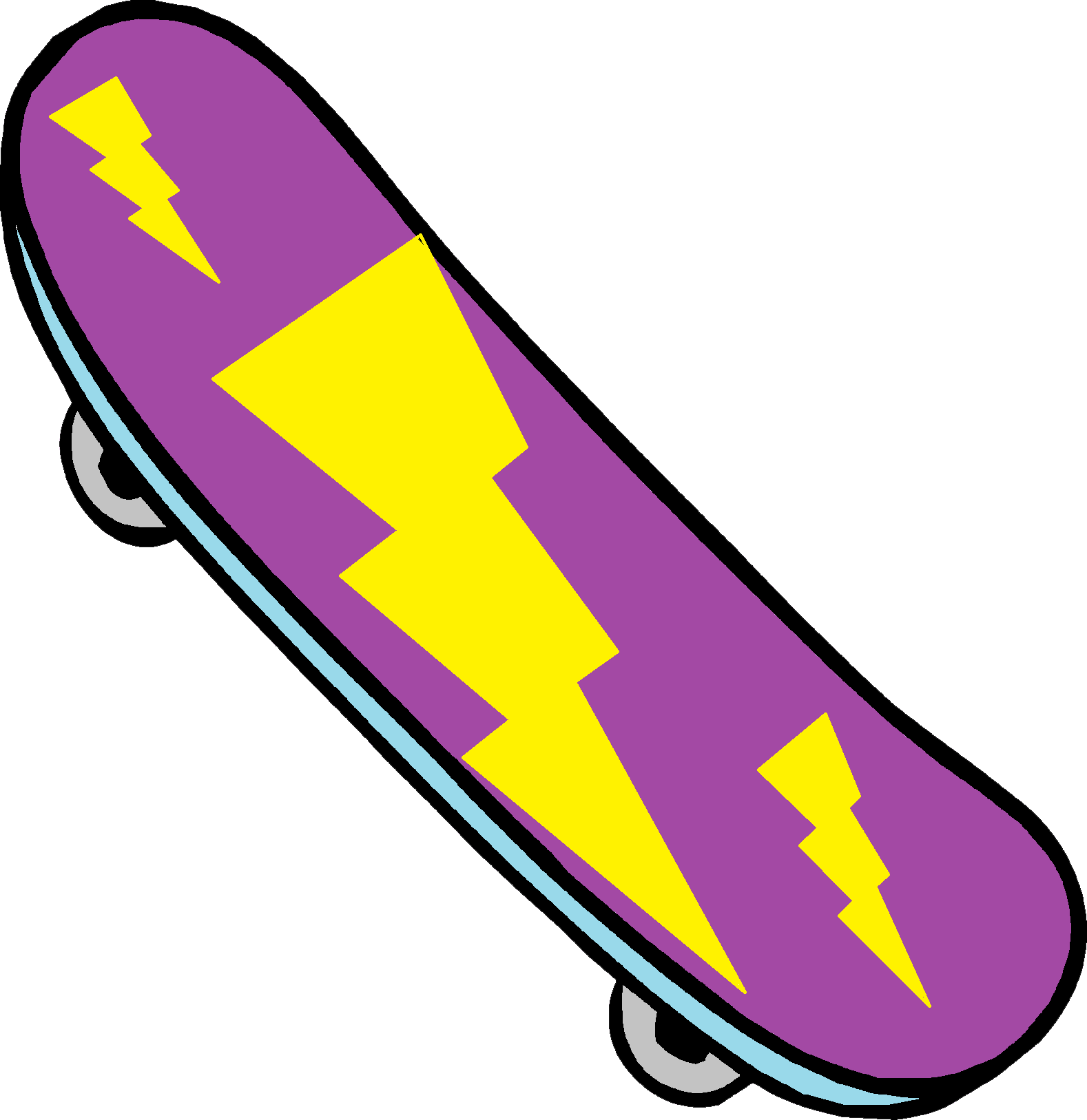 1578x1627 Skateboarding Clipart Skateboard Image