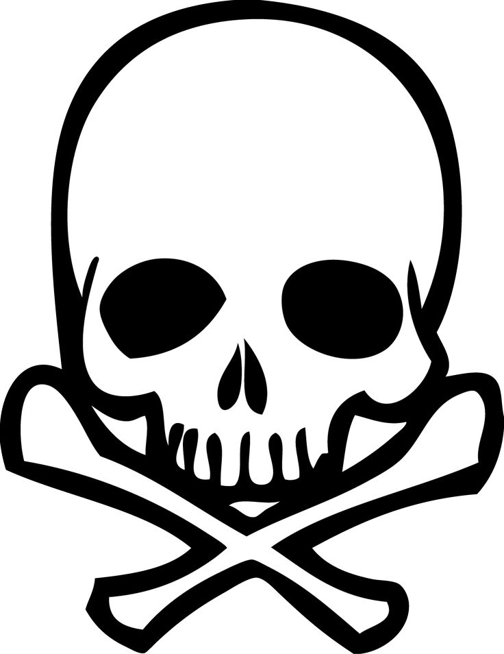 736x954 Vector Skull Free Download Clip Art On Clipart
