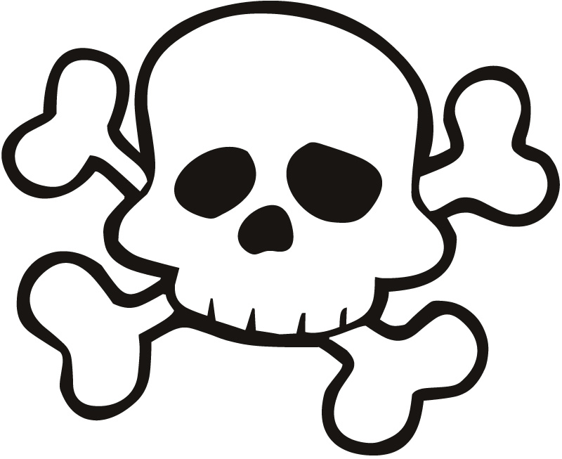 800x653 Free Download Skull And Crossbones Preschoolers Clipart