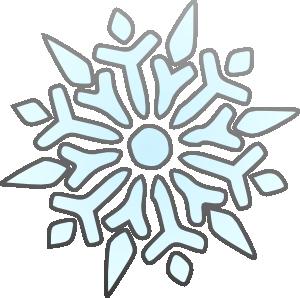 300x298 Snowflake Clipart Vector