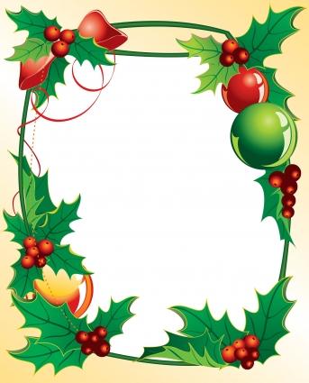 343x425 Christmas Border Xmas Borders Clip Art Clipart
