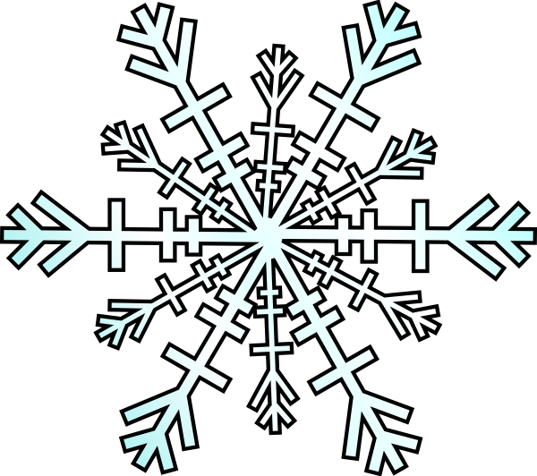 600x532 Illustration Of Free Clipart Snowflakes Clipartmonk