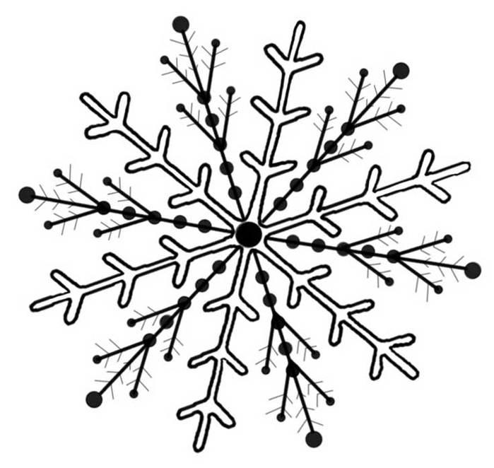 699x662 Snowflake Clip Art Clipart