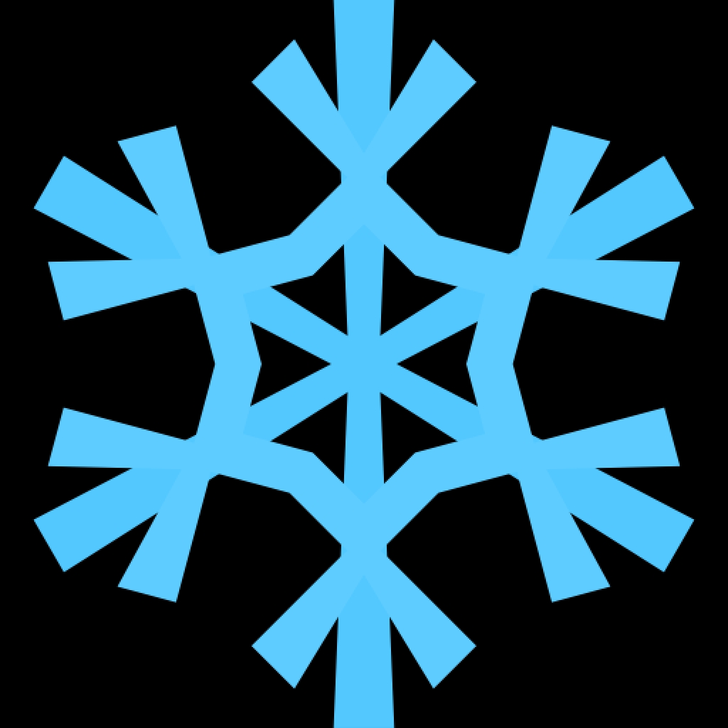 1024x1024 Snowflake Clip Art Images Free Free Clipart Images Clipartingmost
